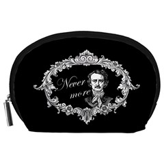 Edgar Allan Poe    Never More Accessory Pouches (large)  by Valentinaart