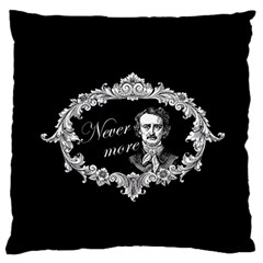 Edgar Allan Poe    Never More Standard Flano Cushion Case (two Sides)