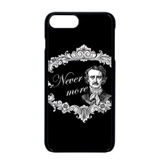 Edgar Allan Poe    Never More Apple Iphone 7 Plus Seamless Case (black) by Valentinaart