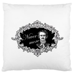 Edgar Allan Poe    Never More Standard Flano Cushion Case (one Side)
