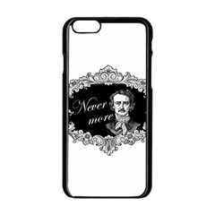Edgar Allan Poe    Never More Apple Iphone 6/6s Black Enamel Case