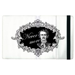 Edgar Allan Poe    Never More Apple Ipad Pro 9 7   Flip Case by Valentinaart