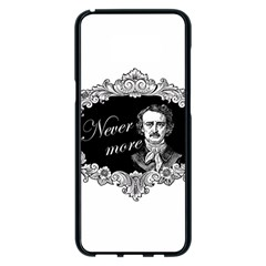 Edgar Allan Poe    Never More Samsung Galaxy S8 Plus Black Seamless Case by Valentinaart