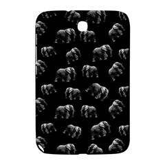 Elephant Pattern Samsung Galaxy Note 8 0 N5100 Hardshell Case  by Valentinaart