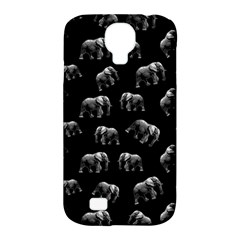 Elephant Pattern Samsung Galaxy S4 Classic Hardshell Case (pc+silicone) by Valentinaart
