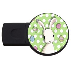 Easter Bunny  Usb Flash Drive Round (4 Gb)
