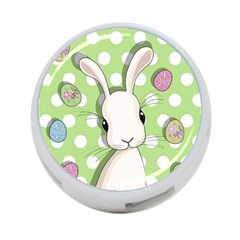Easter Bunny  4 Port Usb Hub (two Sides)