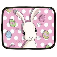 Easter Bunny  Netbook Case (large)