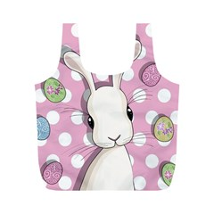 Easter Bunny  Full Print Recycle Bags (m)