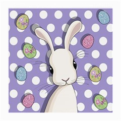 Easter Bunny  Medium Glasses Cloth (2 Side) by Valentinaart