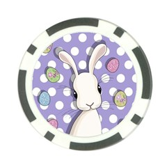 Easter Bunny  Poker Chip Card Guard (10 Pack)