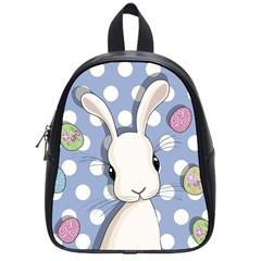Easter Bunny  School Bag (small) by Valentinaart