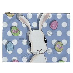 Easter Bunny  Cosmetic Bag (xxl)  by Valentinaart