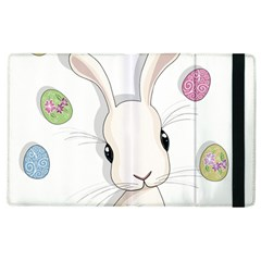 Easter Bunny  Apple Ipad 3/4 Flip Case by Valentinaart