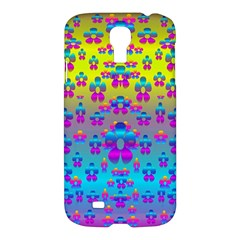 Flowers In The Most Beautiful Sunshine Samsung Galaxy S4 I9500/i9505 Hardshell Case by pepitasart