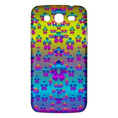 Flowers In The Most Beautiful Sunshine Samsung Galaxy Mega 5 8 I9152 Hardshell Case  by pepitasart