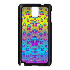 Flowers In The Most Beautiful Sunshine Samsung Galaxy Note 3 N9005 Case (black) by pepitasart