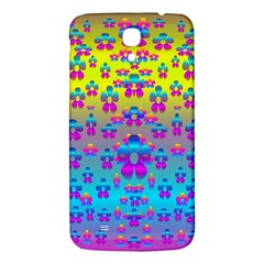 Flowers In The Most Beautiful Sunshine Samsung Galaxy Mega I9200 Hardshell Back Case by pepitasart