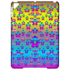 Flowers In The Most Beautiful Sunshine Apple Ipad Pro 9 7   Hardshell Case by pepitasart