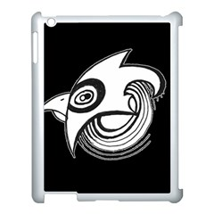 Bird Apple Ipad 3/4 Case (white) by ValentinaDesign