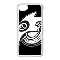 Bird Apple Iphone 8 Seamless Case (white) by ValentinaDesign