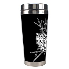 Bird Stainless Steel Travel Tumblers by ValentinaDesign
