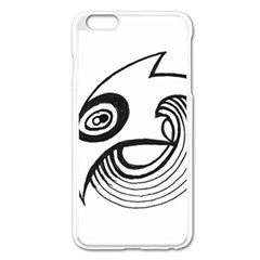 Bird Apple Iphone 6 Plus/6s Plus Enamel White Case