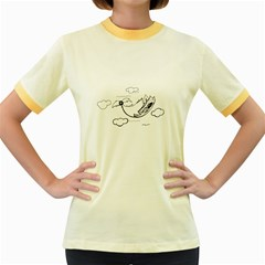 Bird Women s Fitted Ringer T Shirts