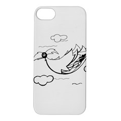 Bird Apple Iphone 5s/ Se Hardshell Case by ValentinaDesign