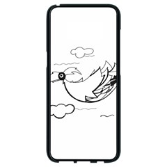 Bird Samsung Galaxy S8 Black Seamless Case