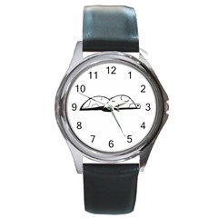 Turtle Round Metal Watch