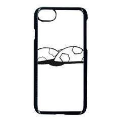 Turtle Apple Iphone 8 Seamless Case (black)