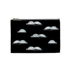 Turtle Cosmetic Bag (medium)  by ValentinaDesign