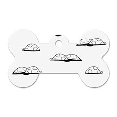 Turtle Dog Tag Bone (two Sides) by ValentinaDesign