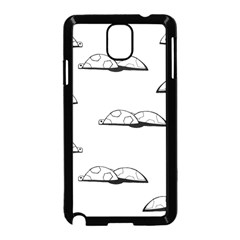 Turtle Samsung Galaxy Note 3 Neo Hardshell Case (black) by ValentinaDesign