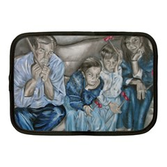 The Nobodies Netbook Case (medium)  by redmaidenart