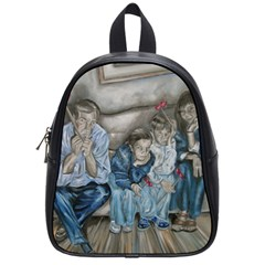 The Nobodies School Bag (small) by redmaidenart