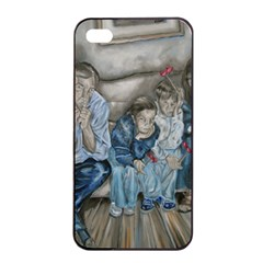 The Nobodies Apple Iphone 4/4s Seamless Case (black) by redmaidenart