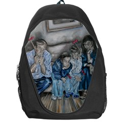 The Nobodies Backpack Bag by redmaidenart