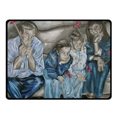 The Nobodies Double Sided Fleece Blanket (small)  by redmaidenart
