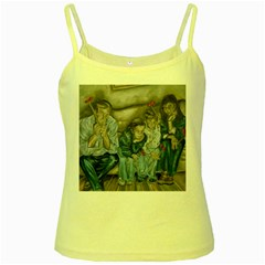 The Nobodies Yellow Spaghetti Tank