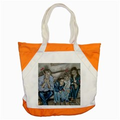 The Nobodies Accent Tote Bag by redmaidenart