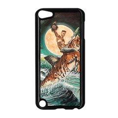 Tiger Shark Apple Ipod Touch 5 Case (black) by redmaidenart