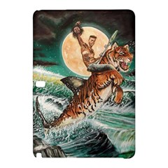 Tiger Shark Samsung Galaxy Tab Pro 10 1 Hardshell Case by redmaidenart