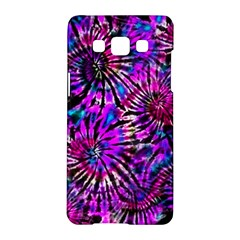 Purple Tie Dye Madness  Samsung Galaxy A5 Hardshell Case  by KirstenStar
