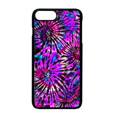 Purple Tie Dye Madness  Apple Iphone 7 Plus Seamless Case (black) by KirstenStar