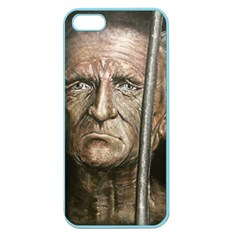 Old Man Imprisoned Apple Seamless Iphone 5 Case (color) by redmaidenart