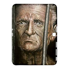 Old Man Imprisoned Samsung Galaxy Tab 4 (10 1 ) Hardshell Case  by redmaidenart