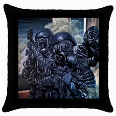 More Pepper Throw Pillow Case (black) by redmaidenart