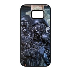 More Pepper Samsung Galaxy S7 Edge Black Seamless Case by redmaidenart